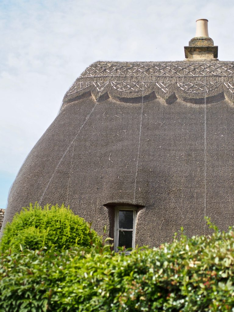 thatched roofs are just some of the sights to look forward at the Cotswolds